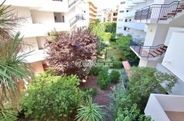 roses espagne: appartement 29 m², aperçu des extérieurs de la résidence