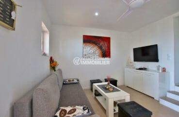 vente immobiliere costa brava: villa ref.3980, séjour du petit appartement (en bas)
