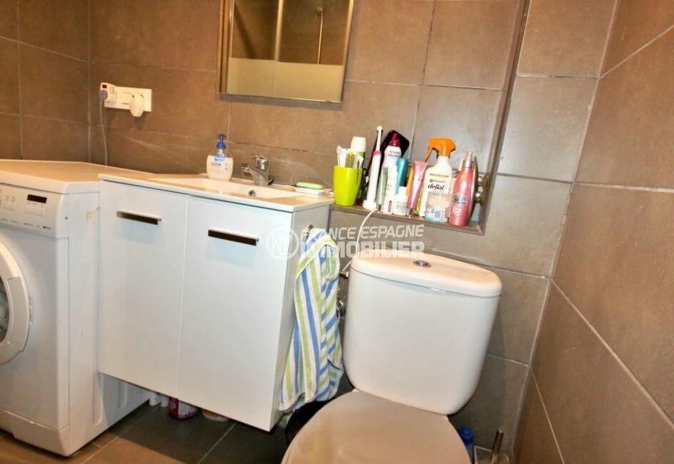 vente villa rosas, villa de plain pied 84 m² avec 3 salle de bains + wc