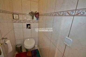 vente immobilière costa brava: villa 171 m², toilettes indépendantes