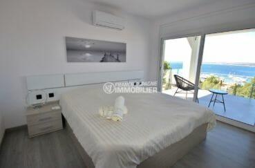 vente immobilière costa brava: villa 300 m², deuxième chambre avec accès terrasse vue mer