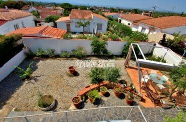 vente maison espagne rosas, jardin 388 m², possibilité piscine