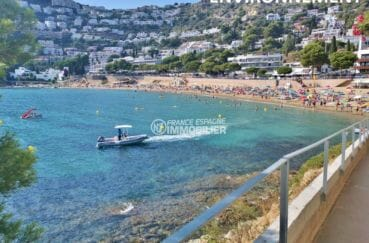 achat villa rosas espagne, à 300 m de la plage de canyelles petites