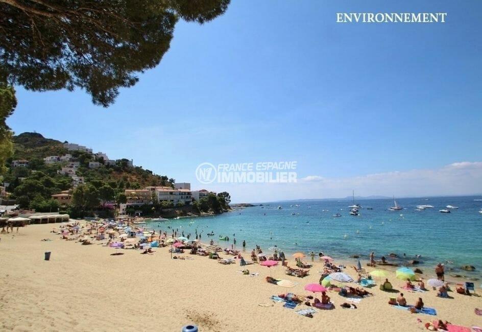 maison a vendre espagne bord de mer, plage canyelles petites à 300 m