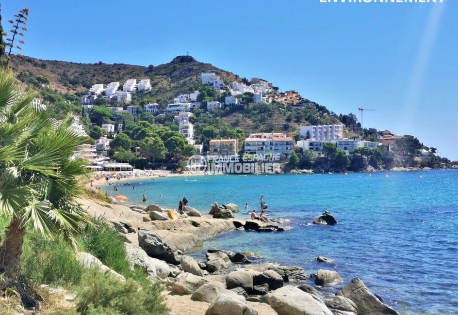 immobilier espagne bord de mer: villa ref.3980, à rosas, 300 m de la plage canyelles petites