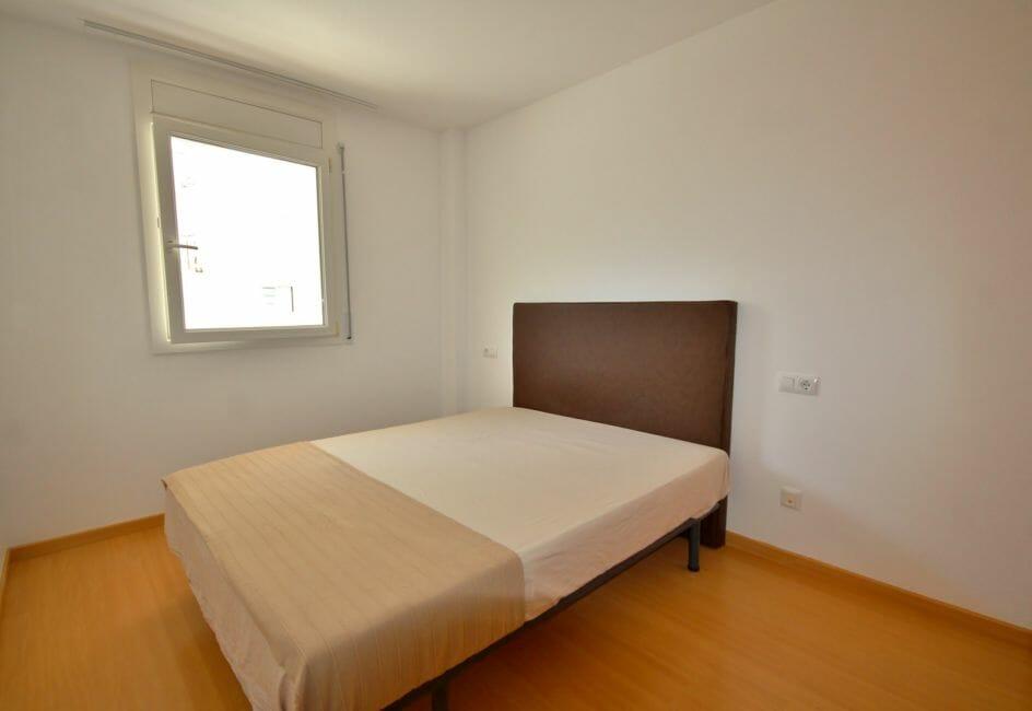 appartement a vendre a rosas, 45 m², chambre avec un lit double