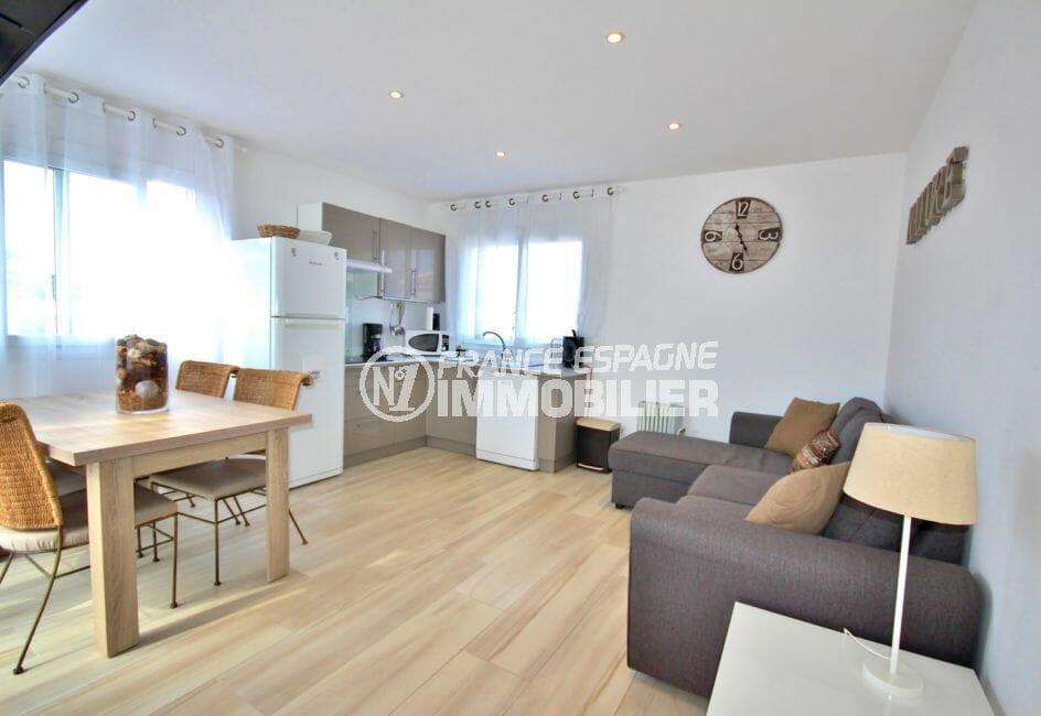 maison a vendre empuriabrava: 128 m², salon / séjour de l'appartement indépendant