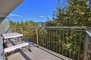 vente appartement empuriabrava, parking, terrasse de 10 m² avec jolie vue dégagée