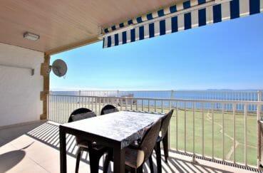vente appartement rosas, avec parking privé, vue mer imprenable, plage à 800 m