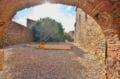 la costa brava: villa 581 m², aperçu de la terrasse avec graviers