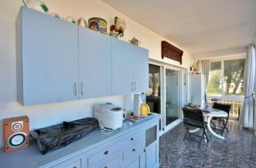 agence immobiliere costa brava: appartement 72 m², belle terrasse, vue mer/montagne