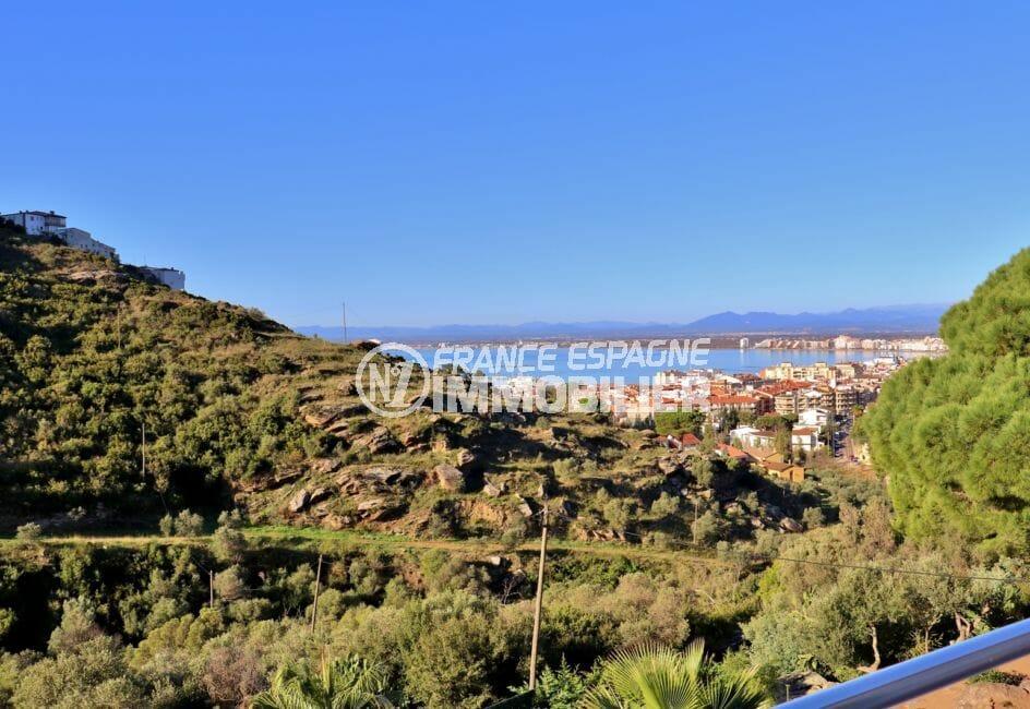 agence immobilière costa brava: appartement atico, magnifique paysage entre montagnes et mer