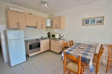 appartement a vendre a empuriabrava espagne: appartement 53 m², coin cuisine ouvert sur le salon / séjour