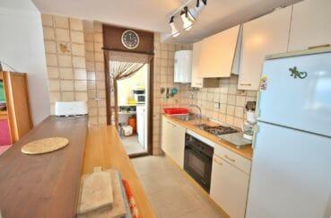vente immobiliere rosas espagne: appartement 67 m², cuisine semi ouverte équipée