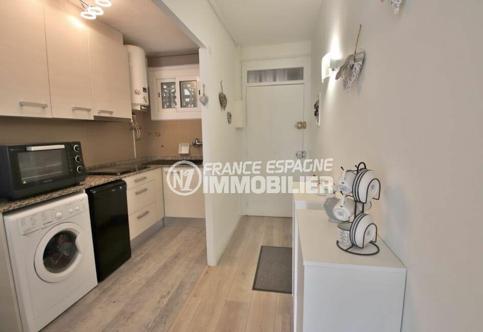 vente immobilier costa brava: appartement 78 m², cuisine aménagée