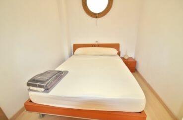 appartement à vendre à rosas espagne, parking, deuxième chambre avec lit double