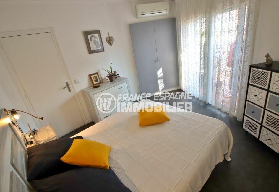 vente appartements rosas espagne, 78 m², première chambre spacieuse