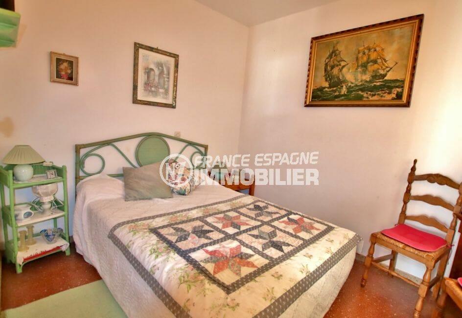 acheter appartement rosas, proche plage, deuxième chambre avec lit double