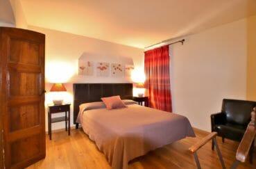vente maison costa brava, proche rosas, deuxième suite parentale avec lit double