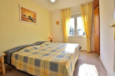 maison a vendre espagne, empuriabrava, troisième chambre avec lit double