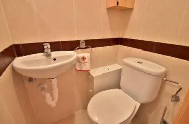 appartement à vendre à rosas, parking, toilettes indépendantes avec lavabo