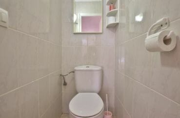 la costa brava: villa 138 m², aperçu des toilettes indépendantes