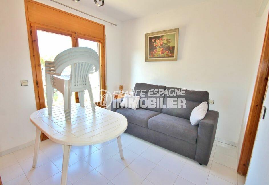 vente immobilier costa brava: villa 172 m², salon / séjour appartement indépendant