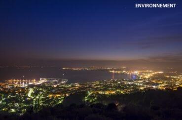 appartement rosas vente, ref.4042, sublime vue sur la baie la nuit tombante