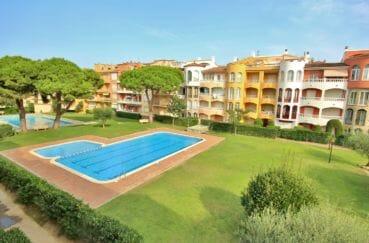 vente appartement empuriabrava à empuribrava, 2 pièces à 100 m de la plage avec piscine possible