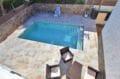 immo roses: villa 140 m² sur terrain de 407 m², belle piscine 6,5 m x 3,5 m