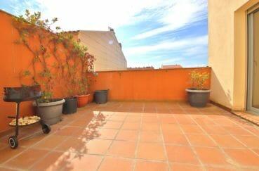 appartement a vendre rosas 108 m², grande terrasse privée, exposition sud-ouest