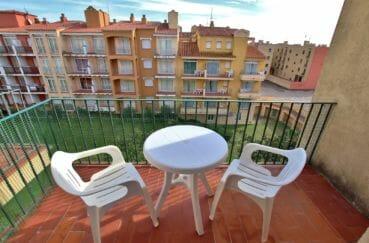 immobilier empuriabrava particulier: appartement atico, terrasse solarium de 6 m², vue mer