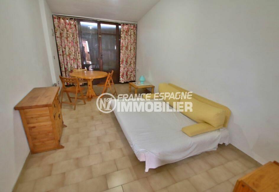 agence immobiliere costa brava: salon/séjour avec terrasse de 11 m², empuriabrava