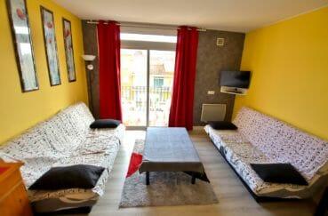 achat appartement empuriabrava: appartement avec vue mer, salon/séjour avec terrasse