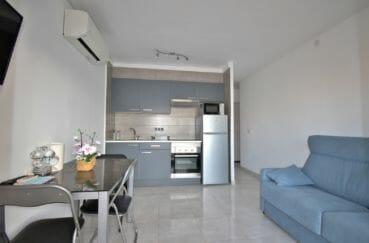 appartement a vendre a empuriabrava: 2 pièces 37 m², salon/séjour avec coin cuisine