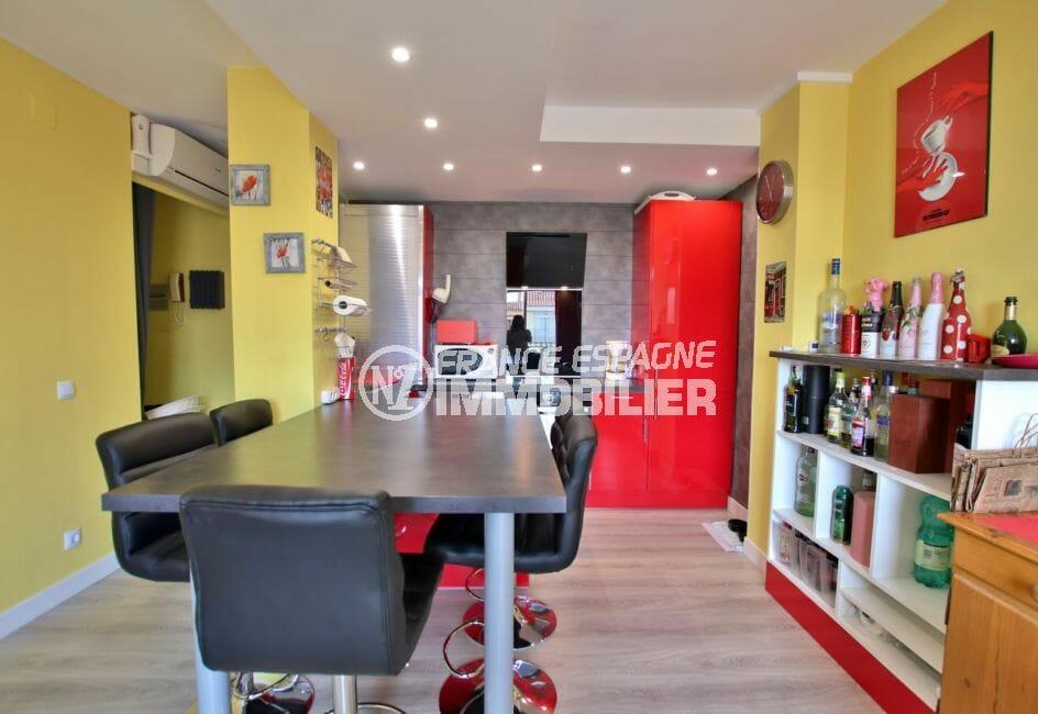 acheter appartement empuriabrava: 4 pièces 65 m² cuisine américaine aménagée