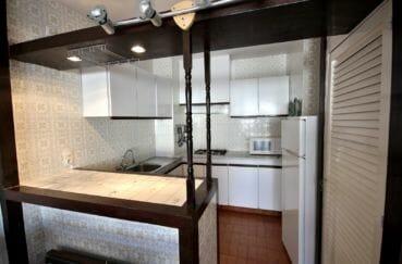 achat appartement rosas: 3 pièces 53 m², cuisine américaine aménagée