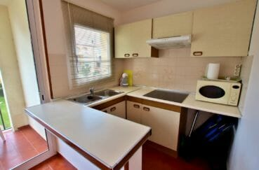appartement à vendre empuriabrava: appartement 46 m² avec cuisine américaine aménagée