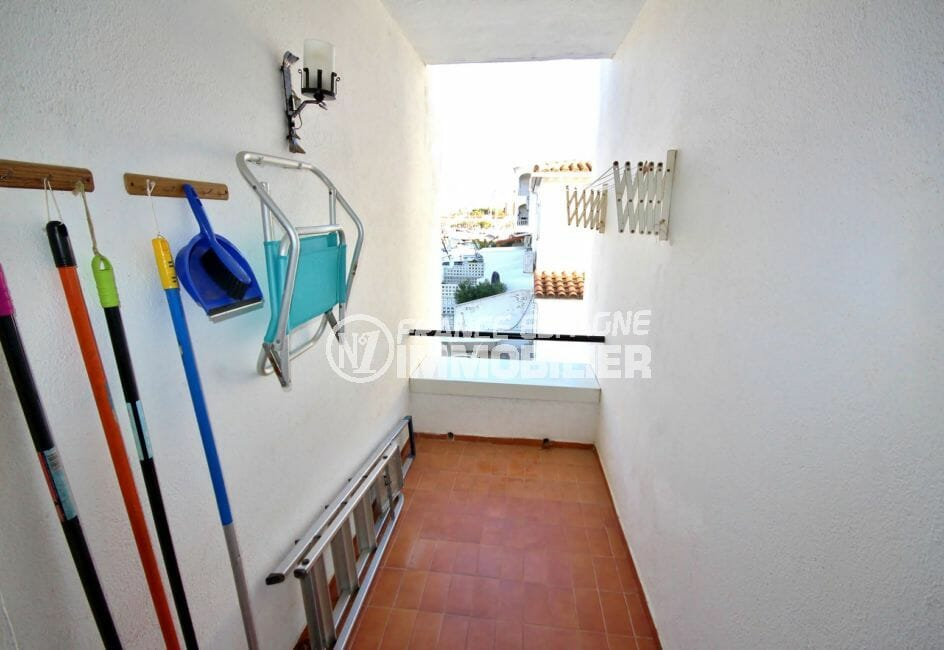 vente immobilier rosas espagne: 3 pièces 53 m², balcon pour rangements