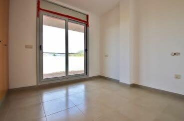 vente appartements rosas espagne, parking, chambre avec accès à la terrasse
