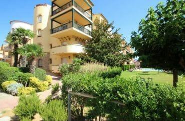 appartement a vendre empuriabrava particulier: 4 pièces 65 m², résidence avec verdure, appartement atico