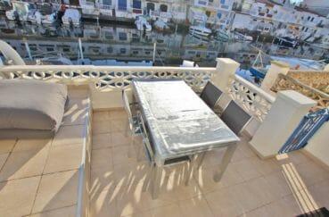 appartement a empuriabrava: appartement 58 m², terrasse de 15 m² avec vue sur canal