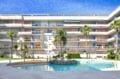 rosas en espagne, 67 m² avec belle piscine communautaire