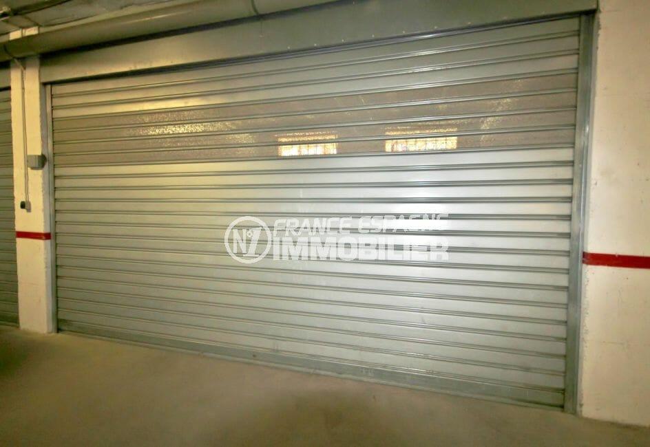 empuriabrava immobilier vente, ref.4077, garage fermée de 23 m² en sous-sol