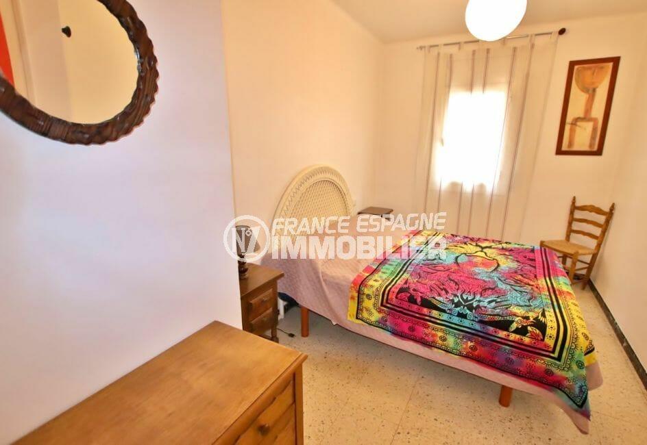 appartements a vendre a rosas, 5 pièces 62 m², 2° chambre, lit double, placard