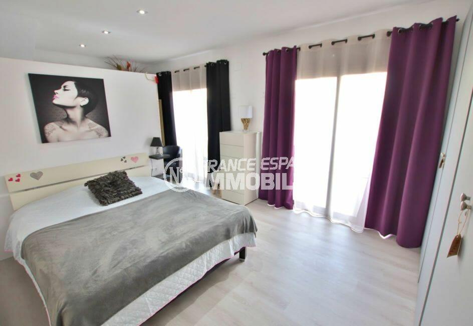 agence empuriabrava: villa 171 m², suite parentale avec accès terrasse