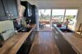 vente immobiliere rosas: villa 192 m², cuisine américaine équipée et fonctionnelle accès terrasse