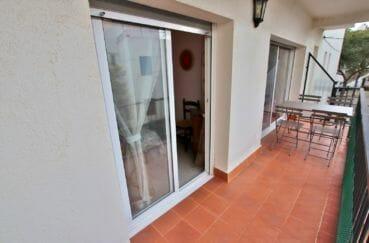 appartement a vendre costa brava: 5 pièces, terrasse, exposition sud