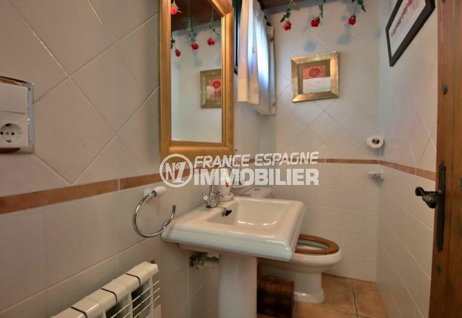 acheter malin costa brava: villa 280 m², wc avec lavabo de l'appartement indépendant
