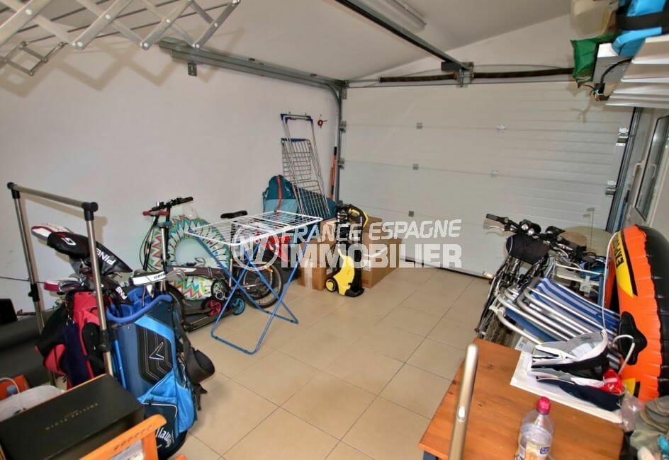 acheter maison espagne costa brava, terrain 778 m², aperçu du garage